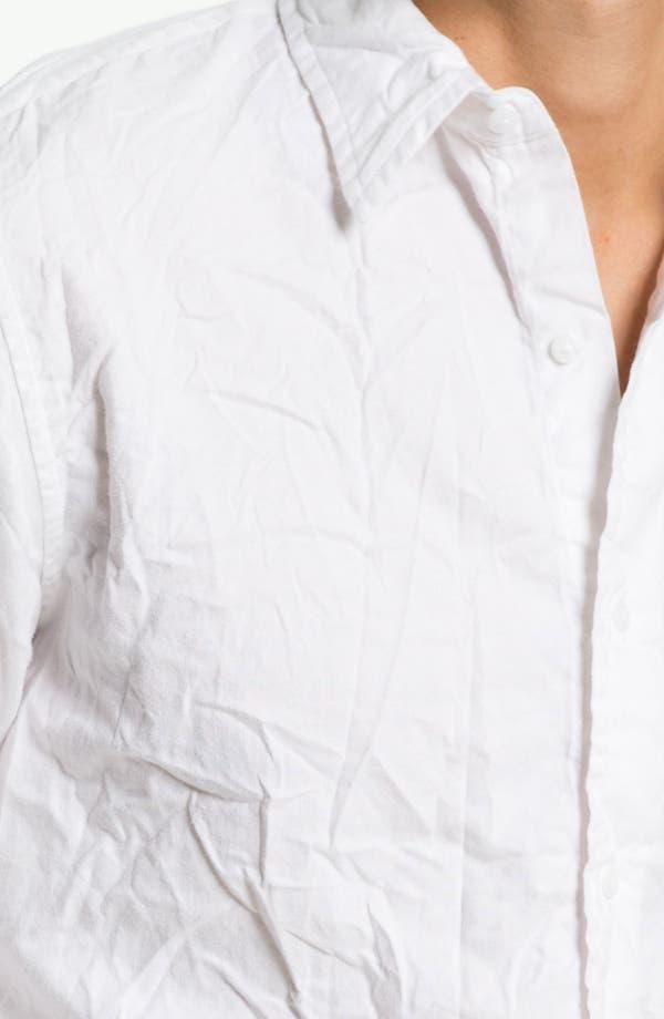 Alternate Image 3  - Save Khaki Oxford Shirt