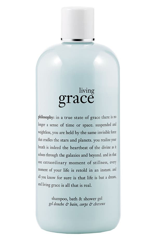 Alternate Image 1 Selected - philosophy 'living grace' shampoo, bath & shower gel