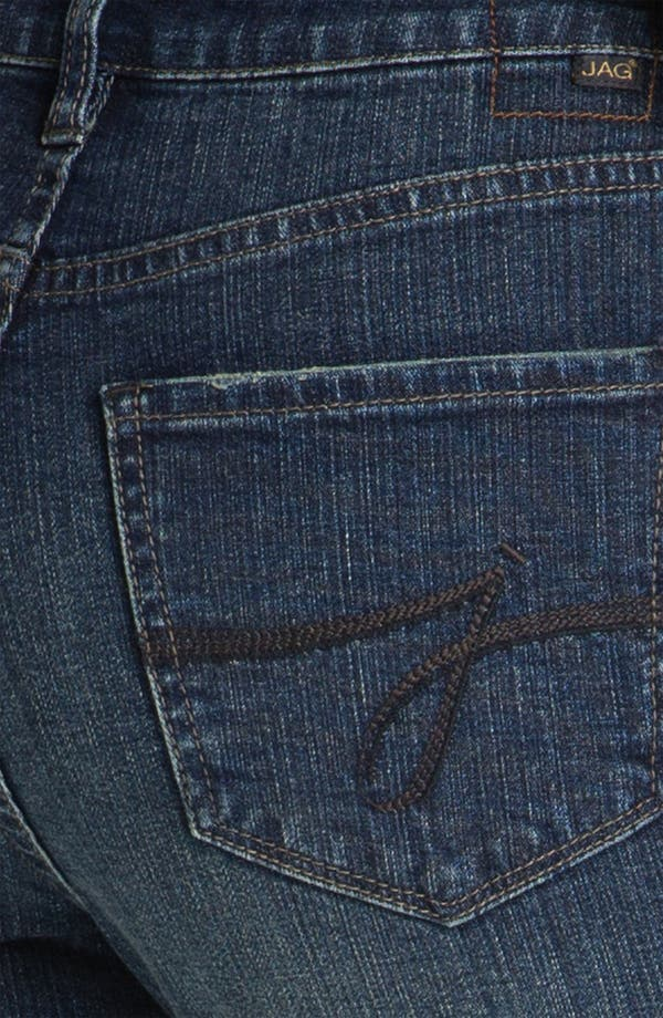Alternate Image 3  - Jag Jeans 'Sydney' Straight Leg Jeans (Billie Blue) (Petite)