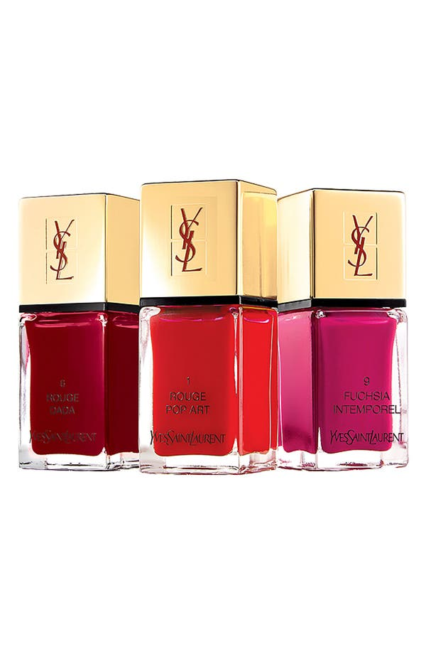Alternate Image 1 Selected - Yves Saint Laurent 'La Laque Couture' Nail Lacquer Set ($75 Value)
