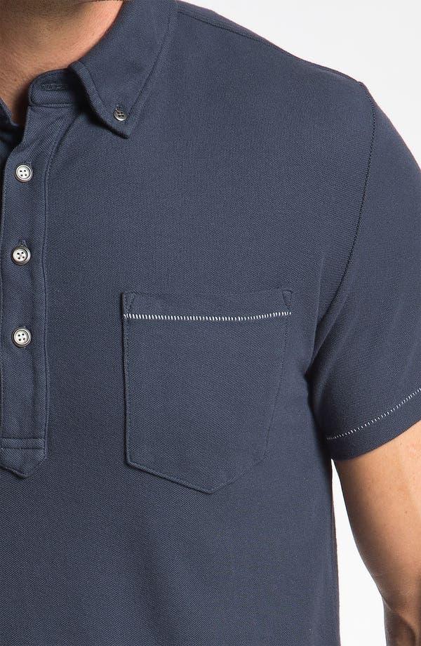 Alternate Image 3  - AG Jeans Piqué Polo
