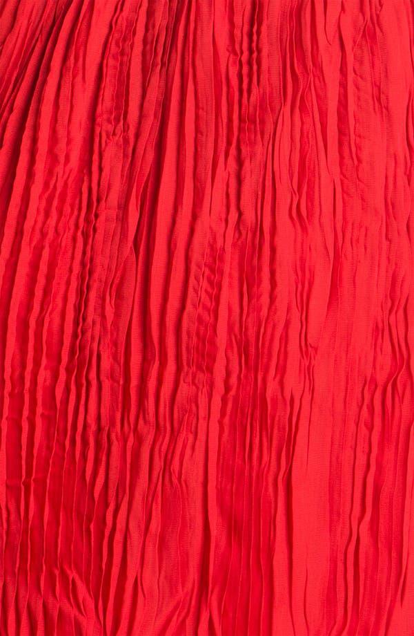 Alternate Image 3  - BB Dakota One Shoulder Crinkle Chiffon Dress