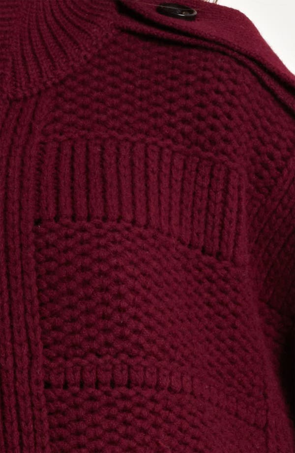 Alternate Image 3  - Burberry Brit Chunky Knit Cardigan (Online Exclusive)