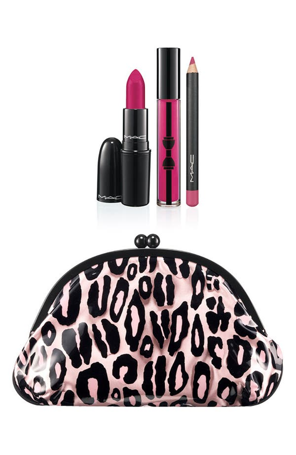 Main Image - M·A·C 'Primped Out - Luxurious Pink' Lip Look Bag