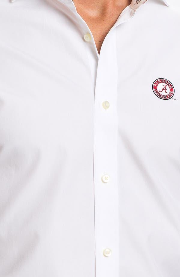 Alternate Image 3  - Thomas Dean 'University of Alabama' Regular Fit Sport Shirt