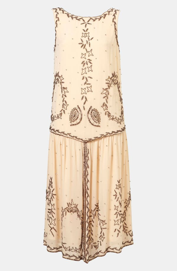 Alternate Image 1 Selected - Topshop 'Flapper' Beaded Dress