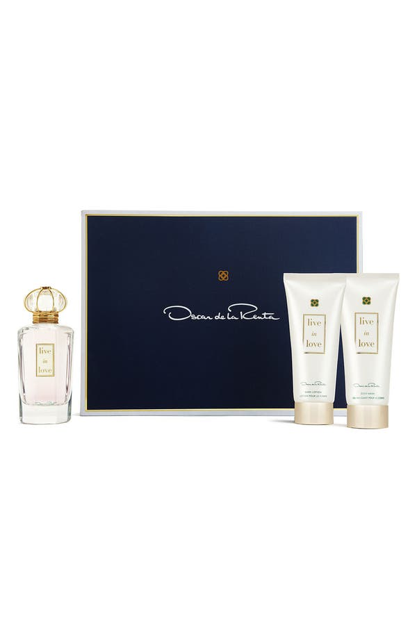 Alternate Image 1 Selected - Oscar de la Renta 'Live in Love' Fragrance Set