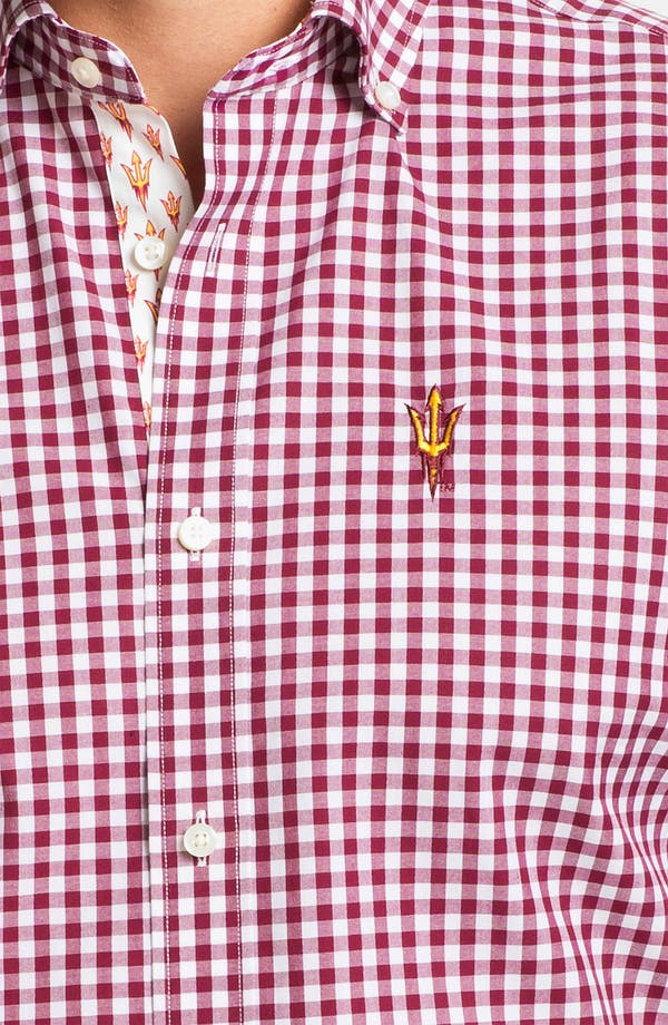 Alternate Image 3  - Thomas Dean 'Arizona State University' Traditional Fit Sport Shirt