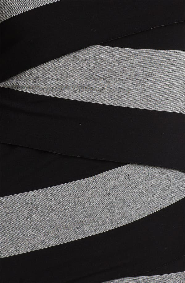 Alternate Image 3  - Vince Camuto Wide Stripe Zigzag Top