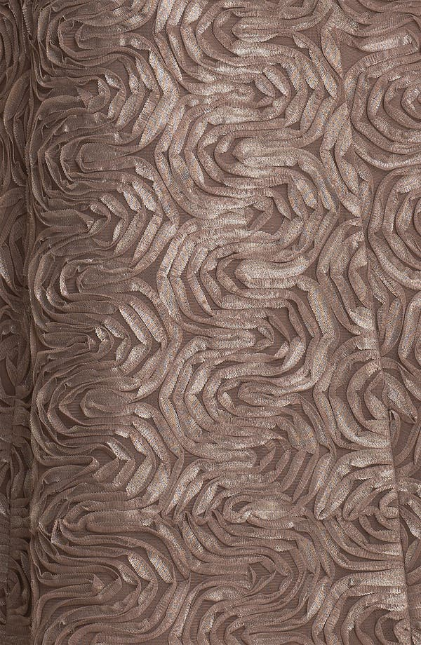 Alternate Image 3  - Adrianna Papell Metallic Soutache A-Line Dress