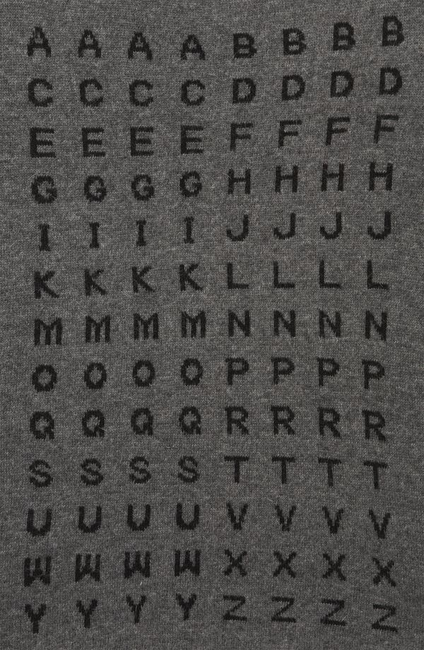 Alternate Image 3  - Topshop 'Alphabet' Sweater
