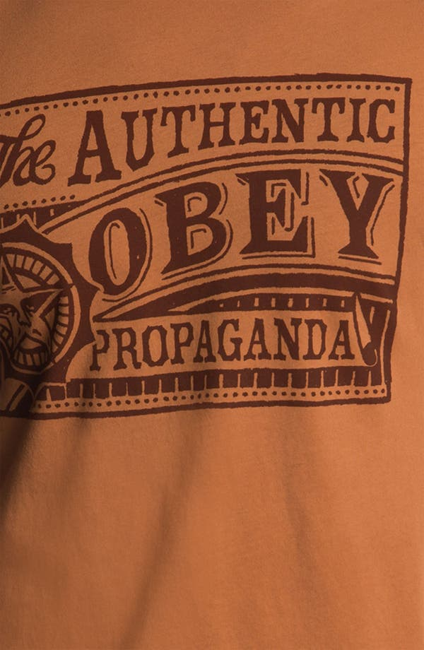 Alternate Image 3  - Obey 'Authentic Obey' Graphic T-Shirt
