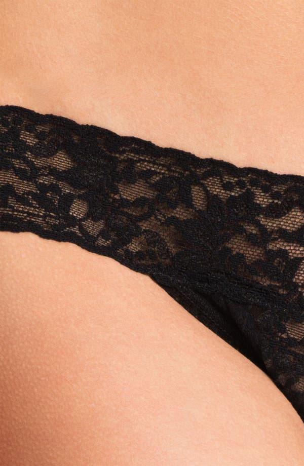 Alternate Image 3  - Hanky Panky Sequin Ruffle Low Rise Thong