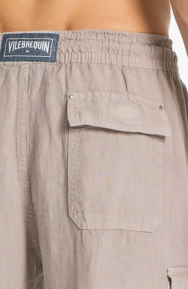 Alternate Image 3  - Vilebrequin 'Ponant' Linen Cargo Pants