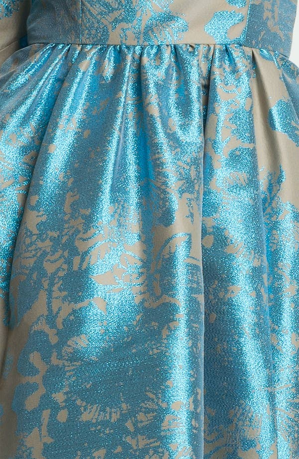 Alternate Image 3  - Tracy Reese Metallic Jacquard Dress