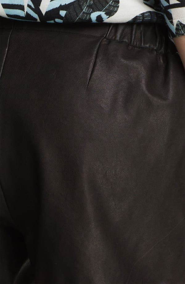 Alternate Image 3  - Thakoon Addition Leather Shorts