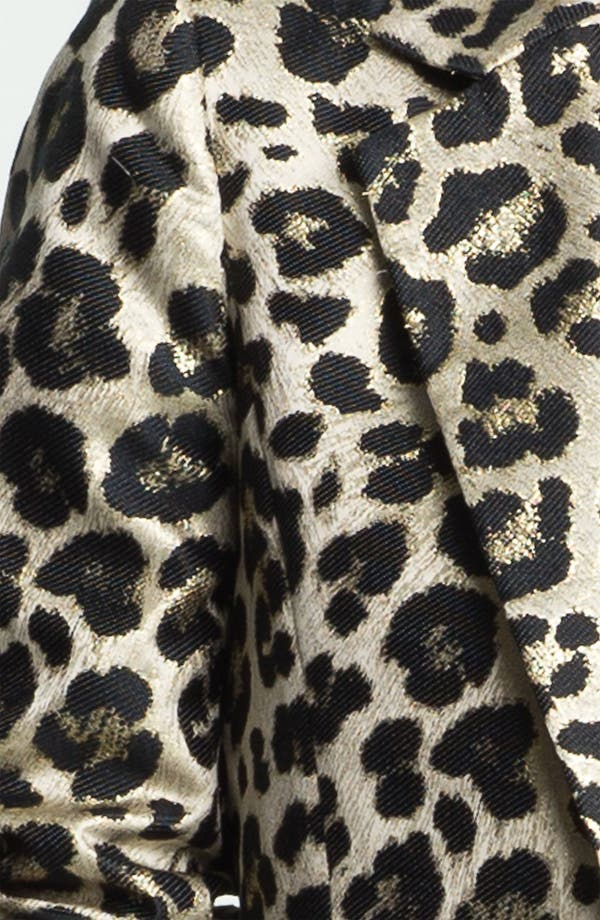 Alternate Image 3  - Alice + Olivia 'Elyse' Leopard Print Blazer