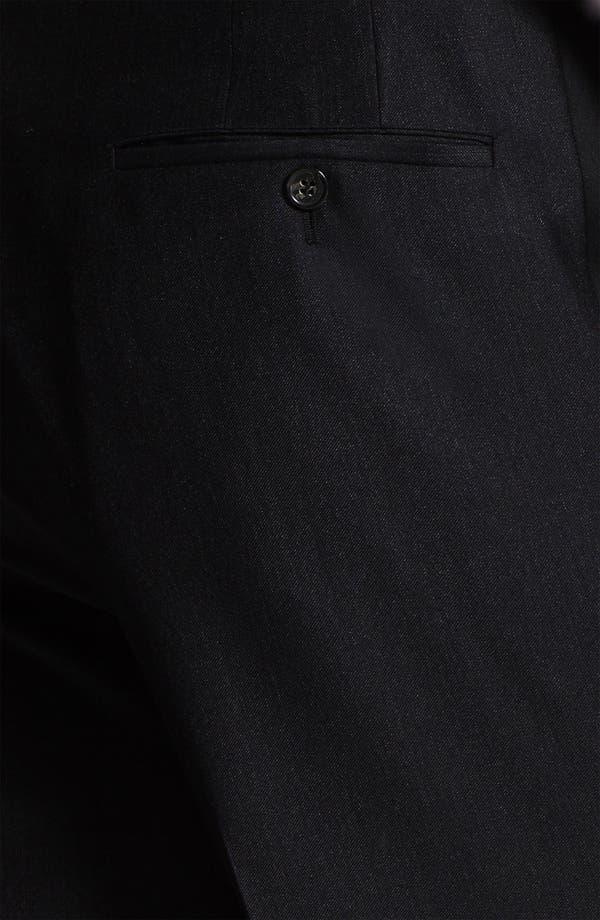 Alternate Image 3  - Samuelsohn Stripe Tuxedo Trousers