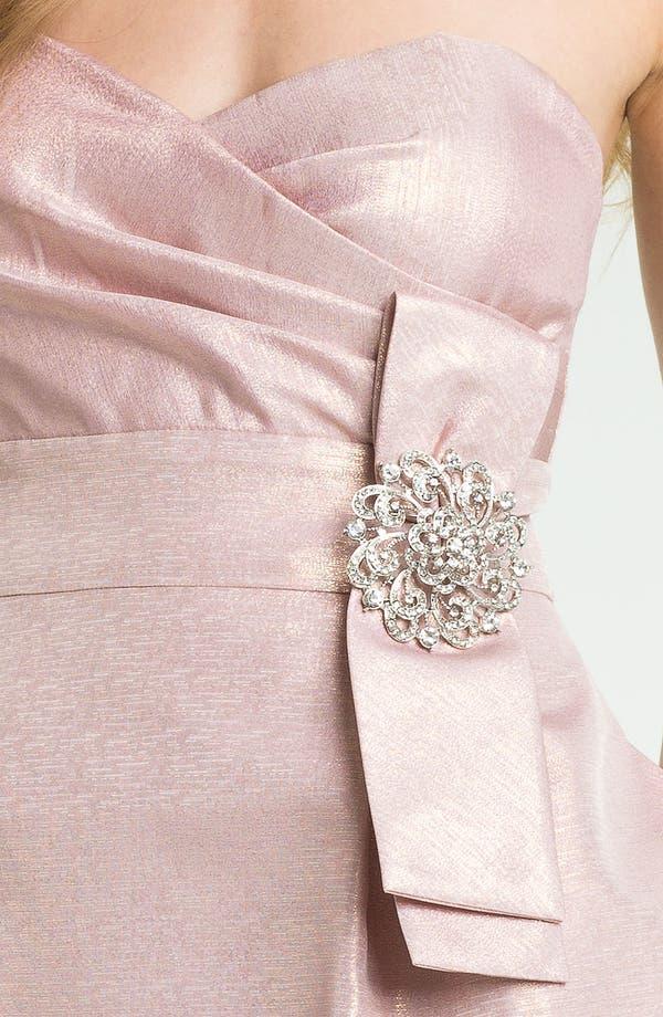 Alternate Image 3  - Eliza J Embellished Strapless Sweetheart Dress