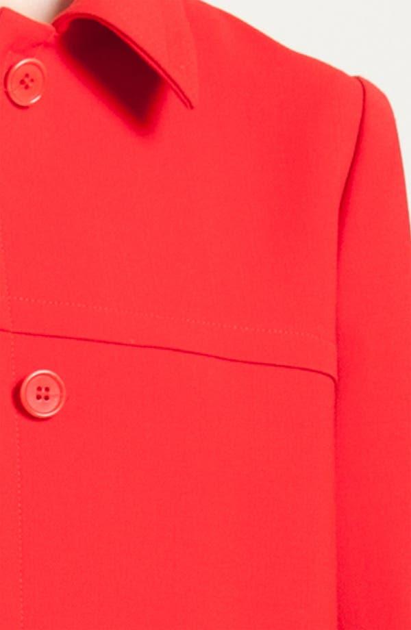 Alternate Image 3  - Jil Sander Navy Wool Crepe Coat