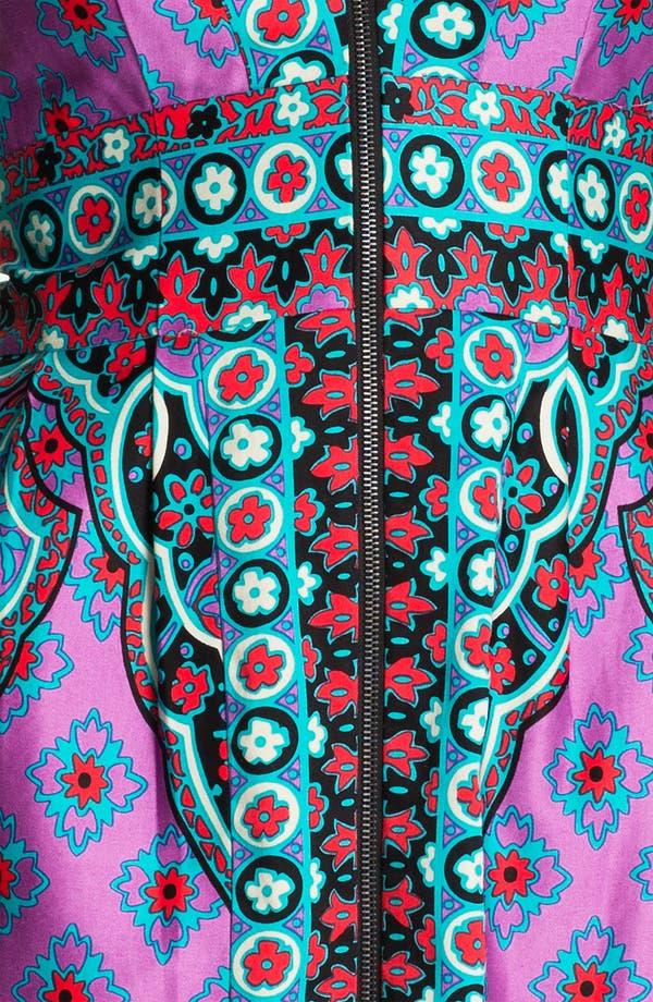 Alternate Image 3  - Nanette Lepore 'Funkadelic' Stretch Cotton Sheath Dress