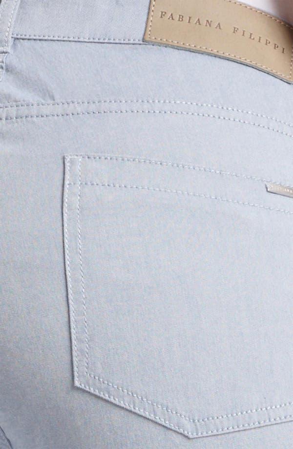 Alternate Image 3  - Fabiana Filippi Slim Stretch Jeans