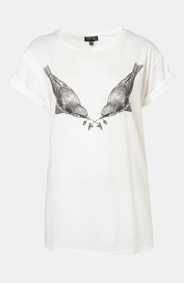 Alternate Image 1 Selected - Topshop 'Robin' Graphic Tee