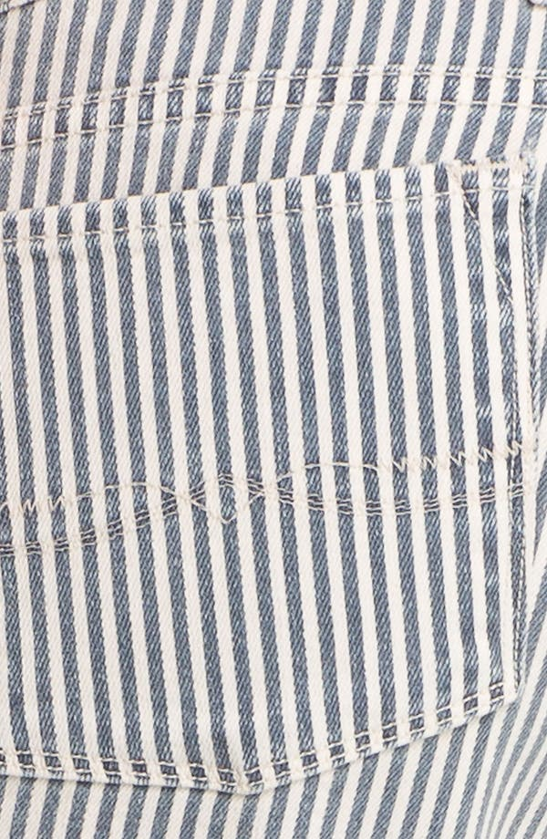 Alternate Image 3  - Lucky Brand 'Charlie' Stripe Skinny Jeans