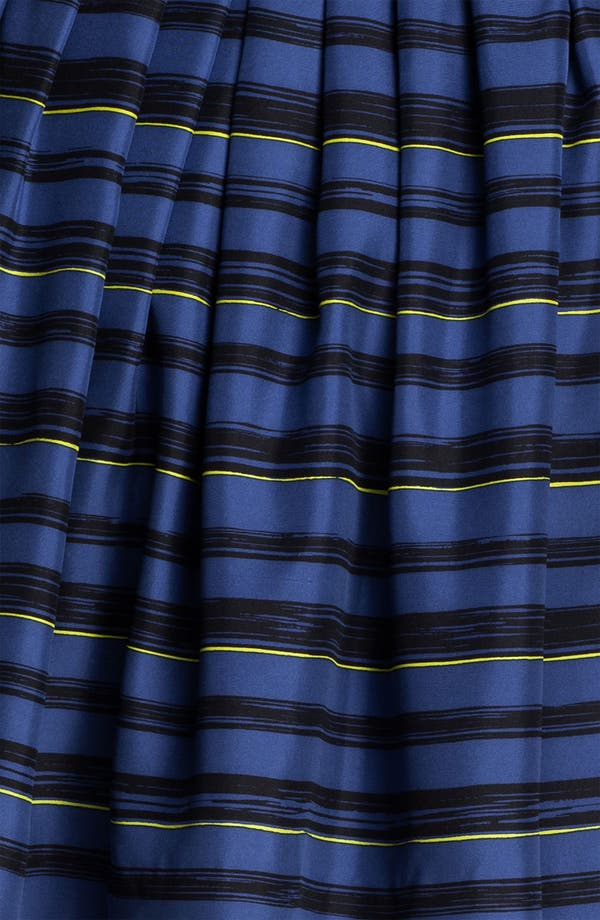 Alternate Image 4  - Miss Wu 'Lush' Stripe Silk Twill Skirt (Nordstrom Exclusive)