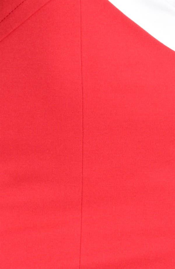 Alternate Image 3  - Armani Collezioni Side Contrast Jersey Dress