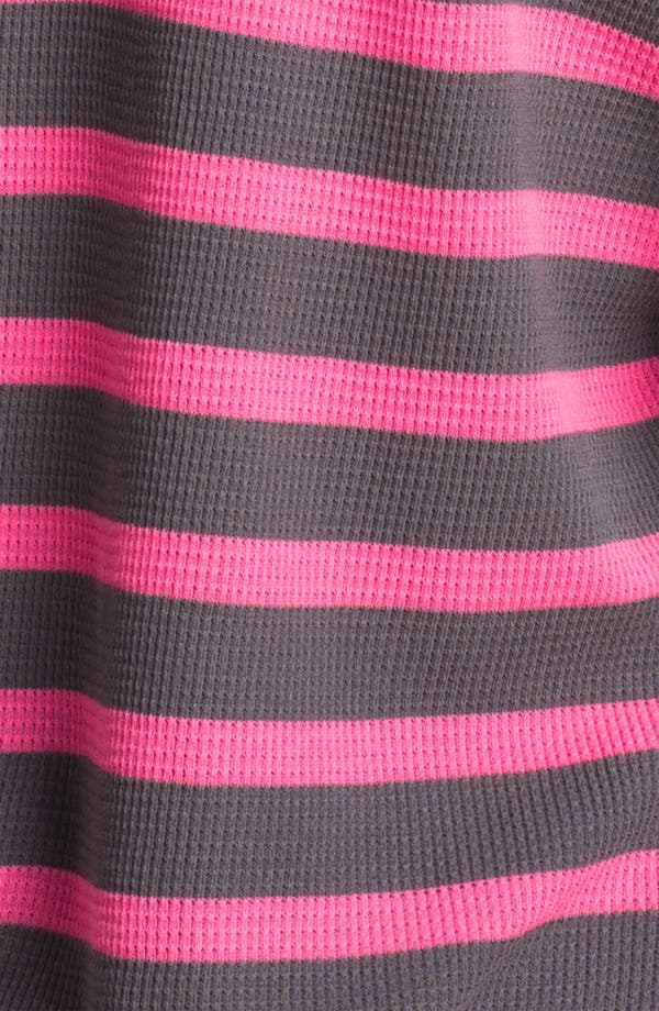 Alternate Image 3  - Splendid Neon Stripe Thermal Hoodie