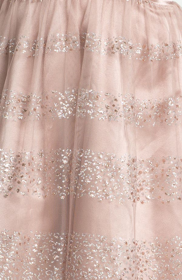 Alternate Image 3  - Trixxi Glitter Fit & Flare Dress (Juniors)