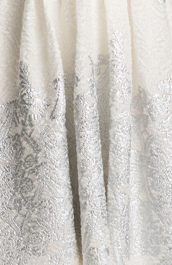 Alternate Image 3  - Lela Rose Short Brocade Gown
