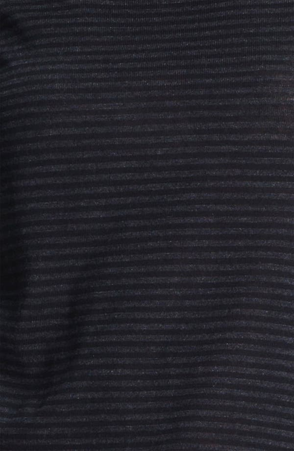 Alternate Image 3  - Eileen Fisher Stripe Fine Merino Top (Petite)