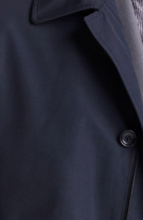 Alternate Image 3  - Z Zegna Cotton Blend Car Coat