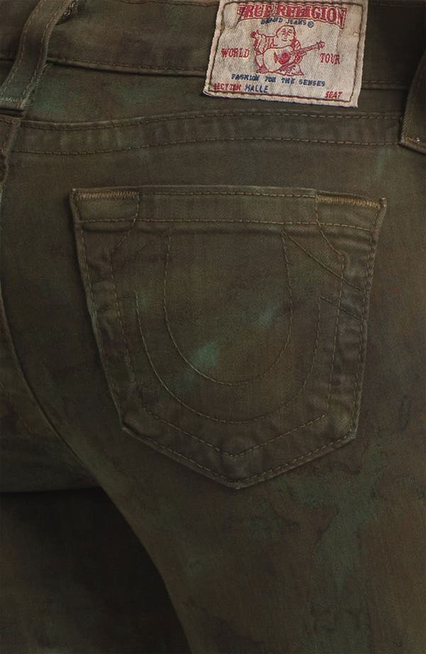Alternate Image 3  - True Religion Brand Jeans 'Halle' Skinny Stretch Jeans (Military)