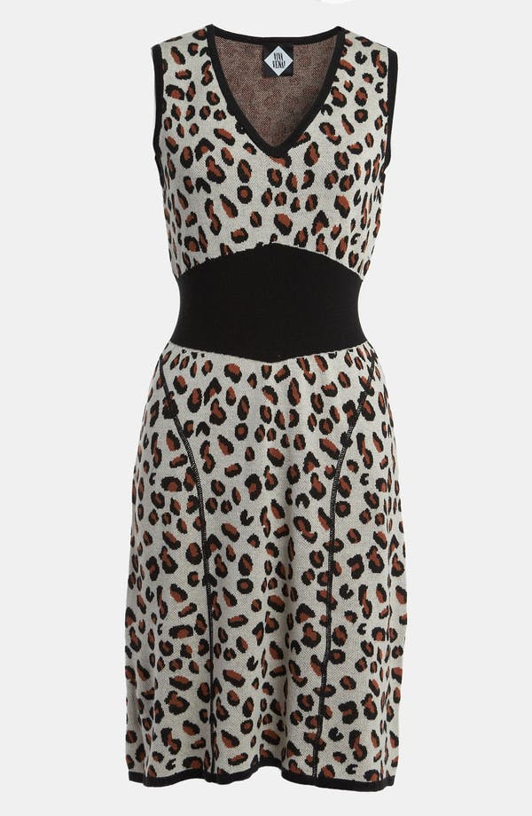 Main Image - Viva Vena! Cheetah Print Sweater Dress