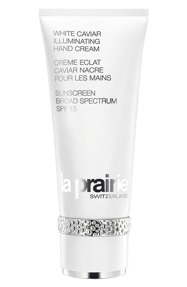 Alternate Image 1 Selected - La Prairie 'White Caviar' Illuminating Hand Cream Broad Spectrum SPF 15