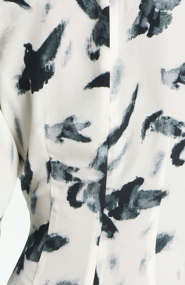 Alternate Image 3  - Skaist-Taylor 'Tippi' Print Asymmetrical Hem Silk Dress