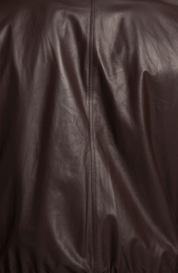 Alternate Image 4  - Canali Reversible Leather Jacket