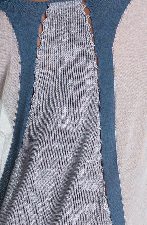 Alternate Image 5  - Helmut Lang Contrast Border Pullover