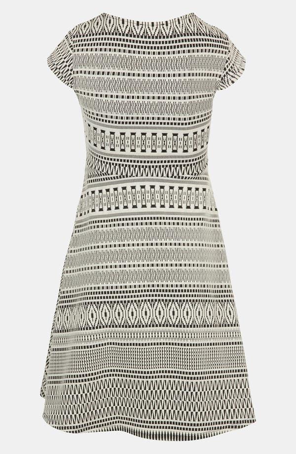 Alternate Image 2  - Topshop Aztec Print Jacquard Maternity Dress