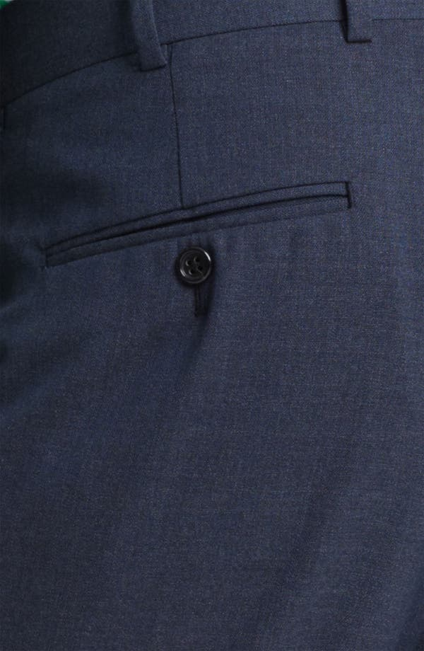 Alternate Image 3  - Brooks Brothers by Jeffrey Wool Trousers