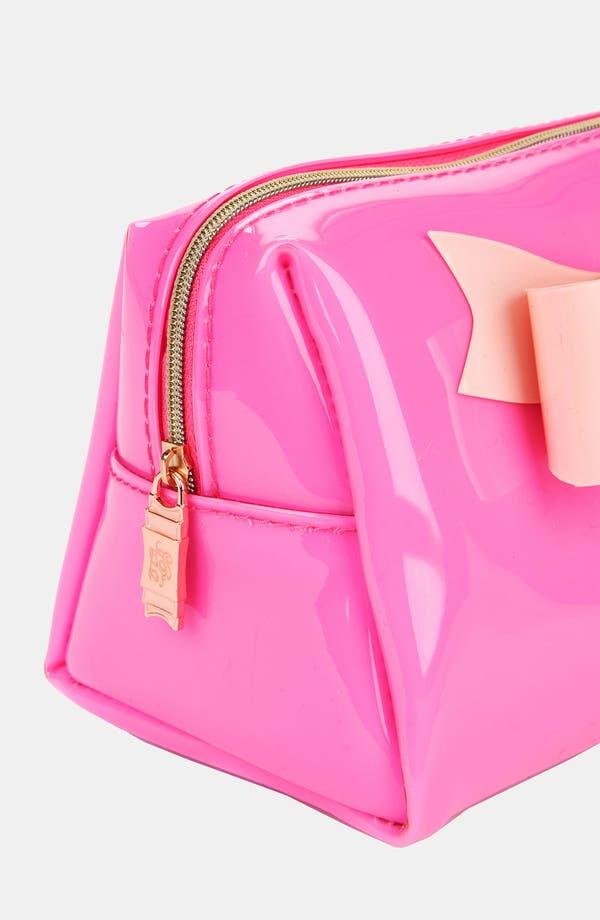 Alternate Image 2  - Ted Baker London 'Small Bow' Cosmetics Case