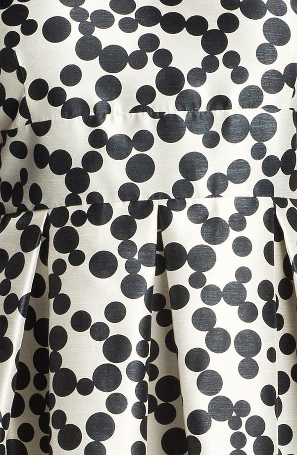 Alternate Image 3  - Taylor Dresses Polka Dot Fit & Flare Dress (Plus Size)