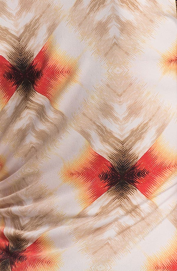 Alternate Image 3  - Vince Camuto 'Feathered Geo' Faux Wrap Top