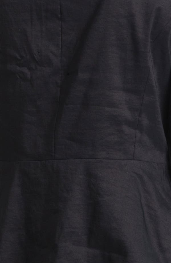 Alternate Image 4  - Eileen Fisher High Collar Peplum Jacket