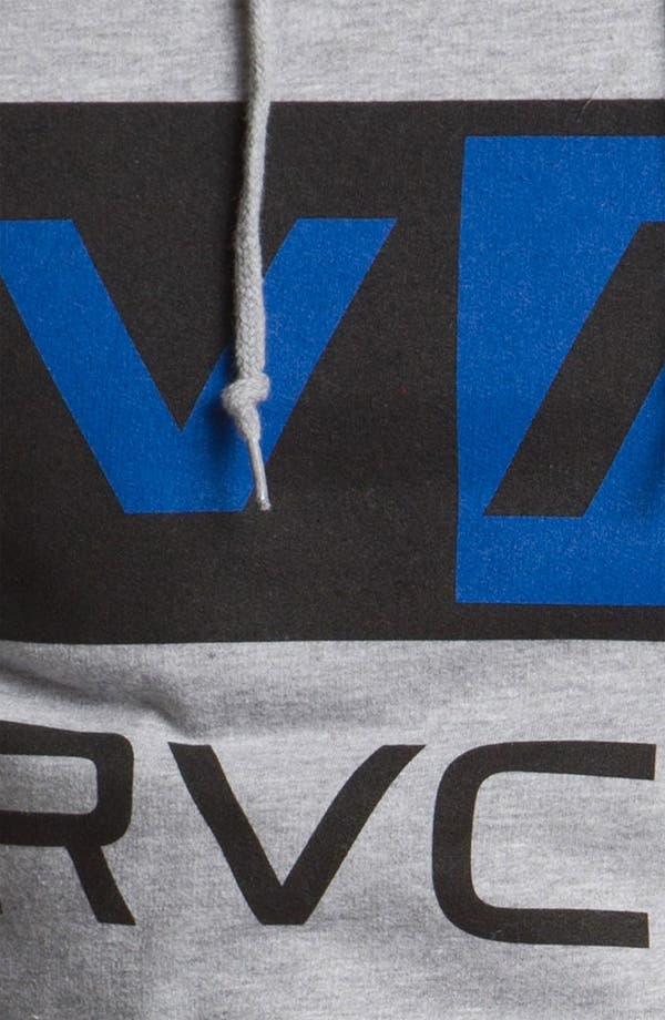 Alternate Image 3  - RVCA 'Balance Box' Hooded Sweatshirt
