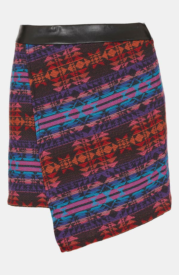 Alternate Image 1 Selected - Topshop 'Moroccan' Wrap Skirt