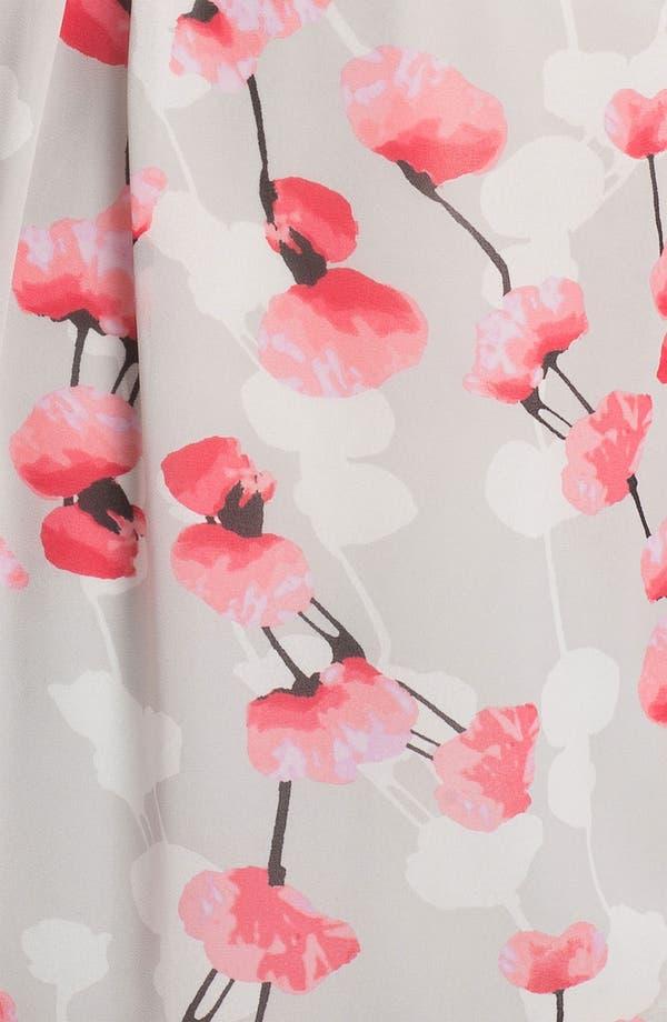 Alternate Image 3  - DKNYC Print Chiffon Blouse (Plus Size)